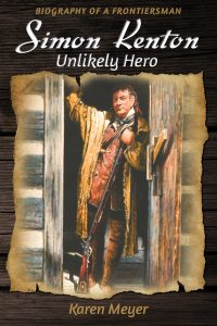 Simon Kenton Unlikely Hero FRONT COVER